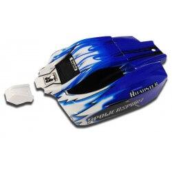Carrosserie Buggy Bleue pour Mini-MHD 1/18 - Z8359108