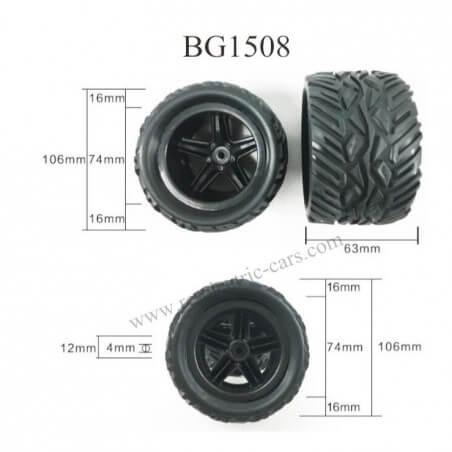 Roue (l'unité) CJ0003 pour Subotech BG1509
