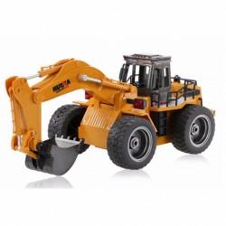Pelleteuse sur roues 1/18 RTR 2.4Ghz avec godet métal - CY1530