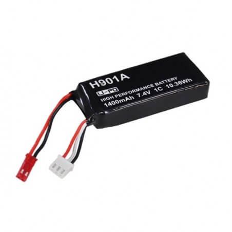 Accu Lipo Hubsan 1400 mAh 7.4V pour Radio H501S - H502S