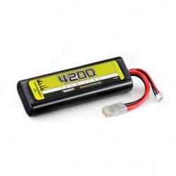 Batterie li-po 4200mah 7.4v 30c prise Tamiya