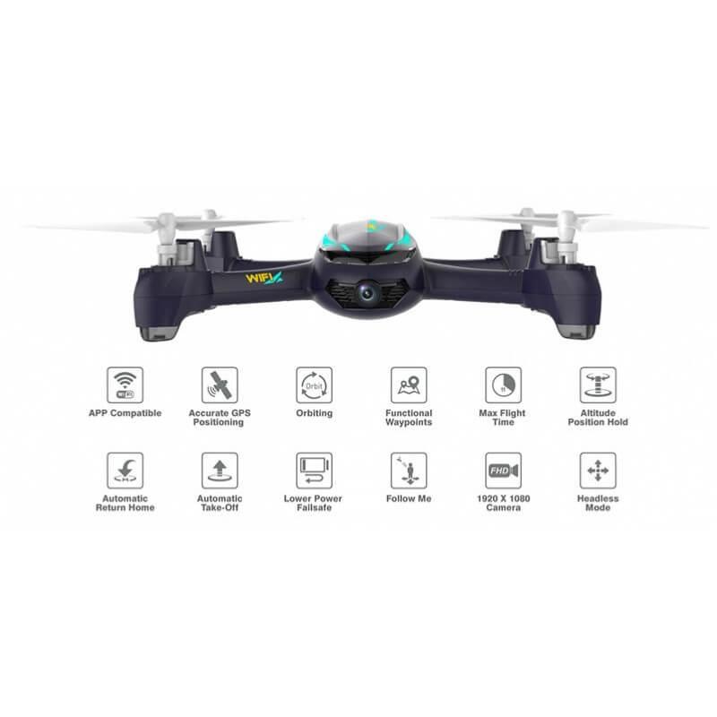 Hubsan Désire X4 PRO H216A FPV - FULL HD 1080p, GPS