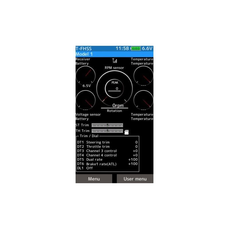 Radio Futaba 7PX + R334SBS 2.4GHz