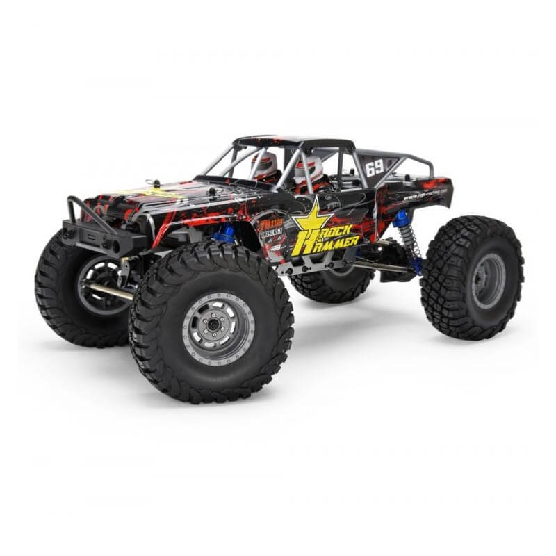 Crawler 1/10 Rock Hammer 4WD RTR (Noir-Rouge)
