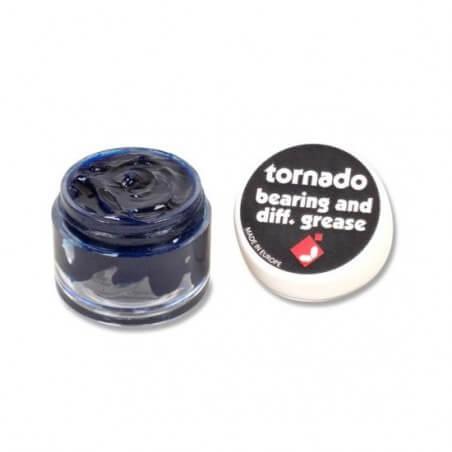 Graisse roulement bleue Tornado 1/10 , 1/8 - J17002