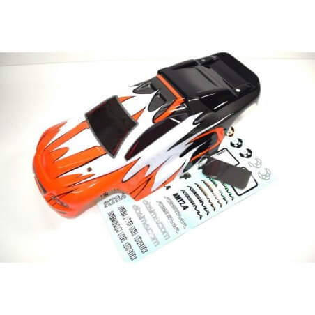 Carrosserie Orange pour Truggy rc 1/10éme Absima 1230355