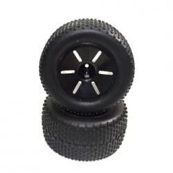 Paire de roues pour Truggy rc 1/10éme Absima 1230315