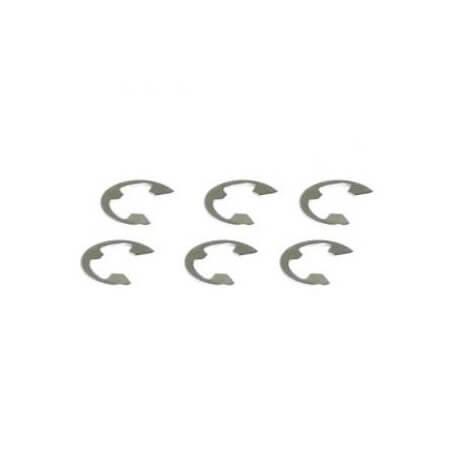 Clips en E diamétre 8 mm Carnage / Vantage 1/10 -  FTX6515