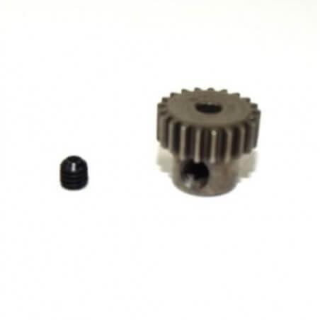 Pignon moteur acier 21T module 0.6 AMT2.4 RTR/BL-Absima 1230340