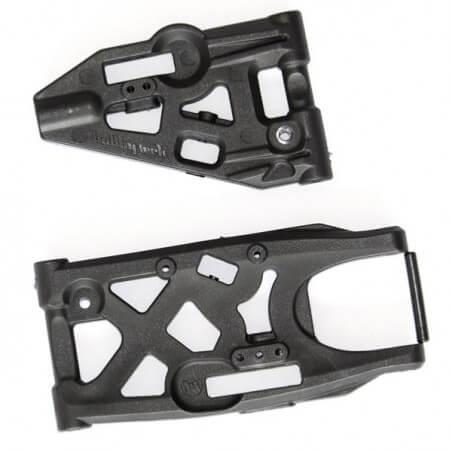 Hobbytech Triangles de suspension avant/arriére pour Spirit NXT STRX-301