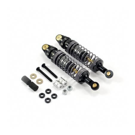 2 Amortisseurs Aluminium réglables 75mm - Voitures 1/10
