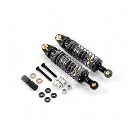 2 Amortisseurs Aluminium réglables 95mm - Voitures 1/10