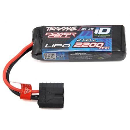 Accu Lipo ID 7,4V 2200 mAh 25C Traxxas TRX 2820X