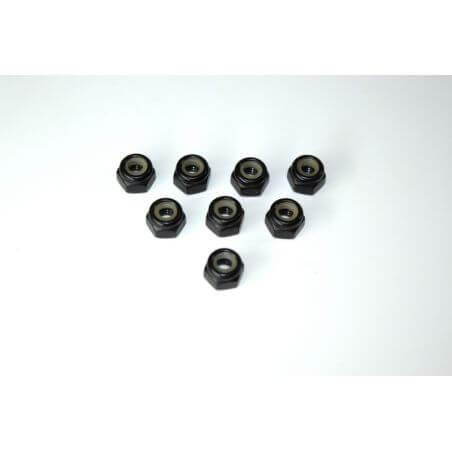 Absima Écrou de nylon M4 (8) ATC 2.4 RTR/BL 1230218