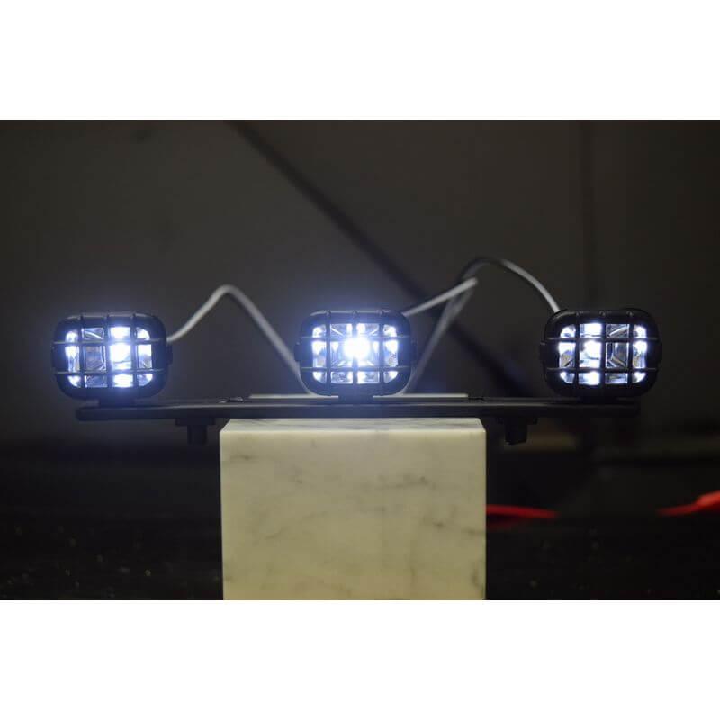 Absima Barrette d'éclairage à LED incl. Visser 15cm 2320040