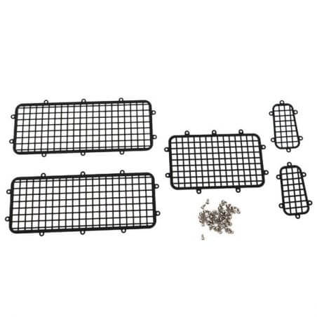 Hobbytech Grilles de protection fenetres en métal TRX4 HT-SU1801003