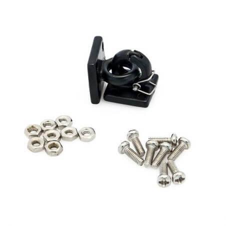 Hobbytech Crochets de remorquage avec anneaux sécurités HT-SU1801030