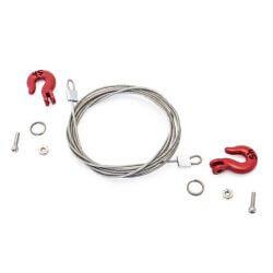 Hobbytech Crochets et cable de remorquage HT-SU1801041