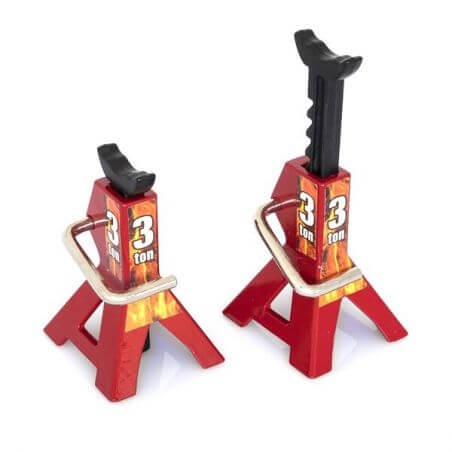 Hobbytech Chandelles à crémaillèr réglable 3 Tonnes HT-SU1801052