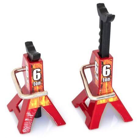 Hobbytech Chandelles à crémaillèr réglable 6 Tonnes HT-SU1801053