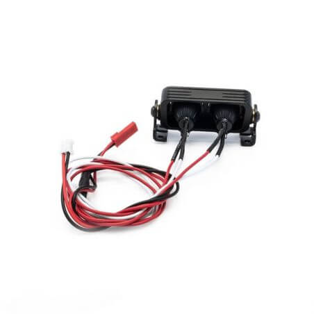 Hobbytech Rampe de projecteur LED rond an aluminium 54mm HT-SU1801091