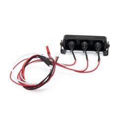 Hobbytech Rampe de projecteur LED rond an aluminium 73mm HT-SU1801092