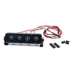 Hobbytech Rampe de projecteur LED rond an aluminium 90mm HT-SU1801093
