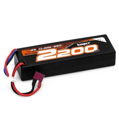 Konect Konect Lipo 2200mAh 7,4V 25C 2S1P  KN-LP2S2200