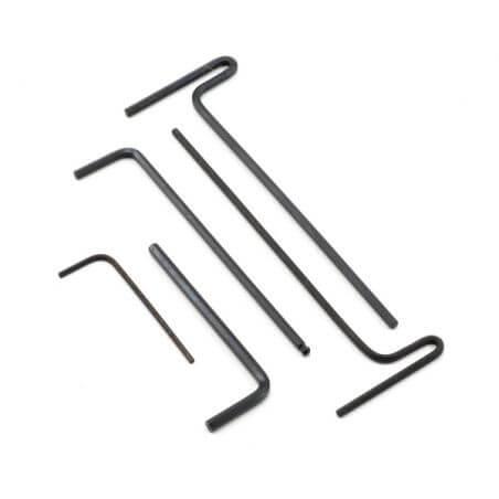 TRAXXAS cle 6 pans 1.5mm/2mm/2.5mm/3mm/2.5 a boule TRX5476X