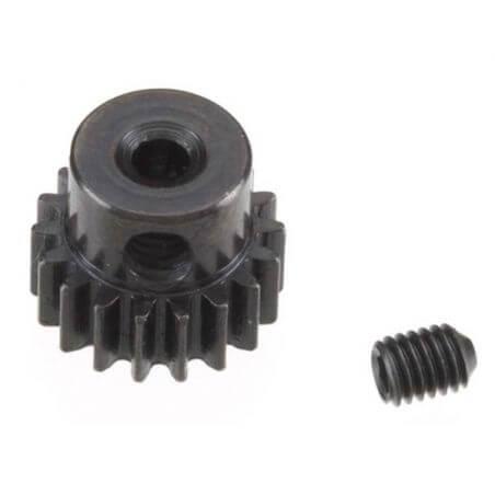 TRAXXAS pignon moteur acier 18 dts - 48 pitch - 2,3mm TRX7041