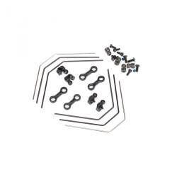 TRAXXAS kit barre anti roulie avant/arriere (2) TRX8398