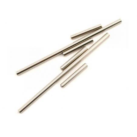 TRAXXAS axes de triangles avant ou arriere aciers 3x25mm (4) / 3x85mm (2) TRX5321