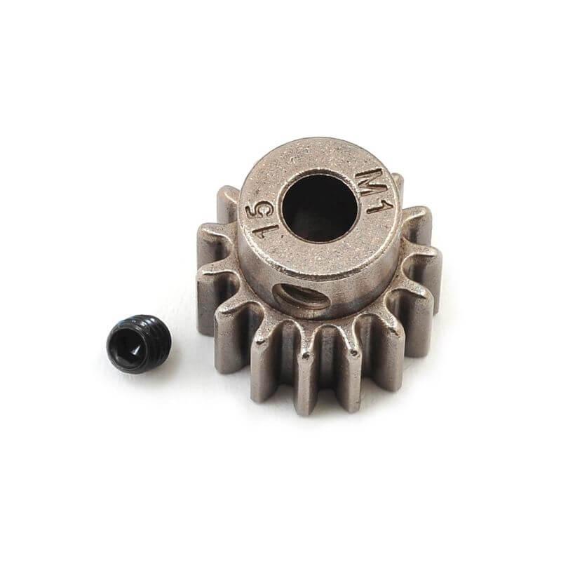 TRAXXAS pignon moteur 15 dts - 1.0 metric pitch - 5 mm TRX6487X
