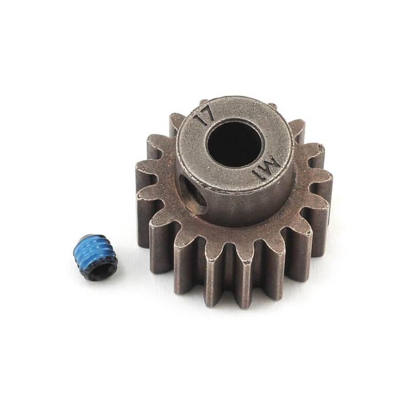 TRAXXAS pignon moteur 17 dts - 1.0 metric pitch - 5 mm TRX6490X