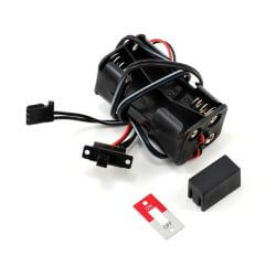 TRAXXAS battery holder, 4-cell /switch TRX3170X