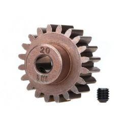 TRAXXAS pignon moteur 20 dts - 1.0 metric pitch - 5 mm TRX6494X