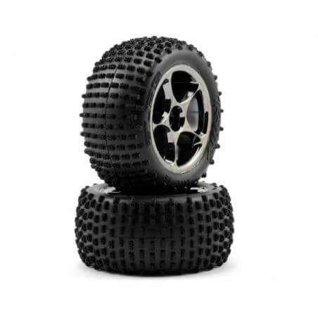 TRAXXAS roues arriere montees medium alias 2.2 pour bandit (2) TRX2470A