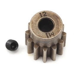 TRAXXAS pignon moteur 12 dts - 1.0 metric pitch - 5 mm TRX6485