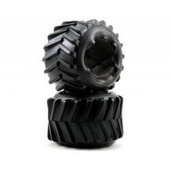TRAXXAS pneus chevron maxx 3.8 pour maxx/revo series (2) TRX5171