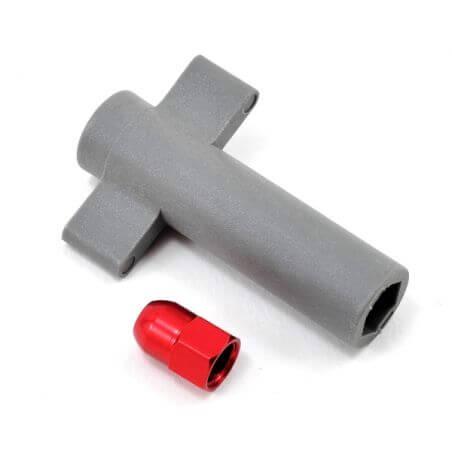 TRAXXAS antenna crimp nut, aluminum (r TRX5526R