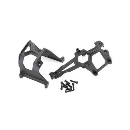 TRAXXAS support de chassis avant et arriere TRX8620