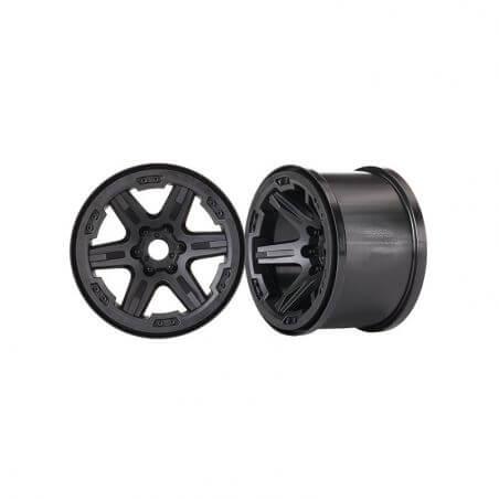 TRAXXAS jantes 3,8 noires 17mm (2) TRX8671