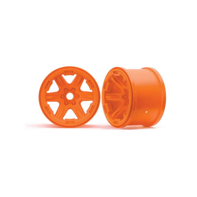 TRAXXAS jantes 3,8 oranges 17mm (2) TRX8671A