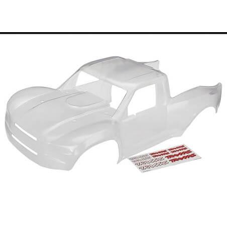TRAXXAS carrosserie transparente desert racer + autocollants TRX8511