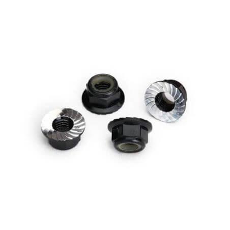 Traxxas Écroues Nylstop de roues Alu noir 8447A