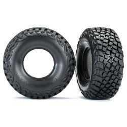 TRAXXAS pneus bfgoodrich + mousse (2) TRX8470