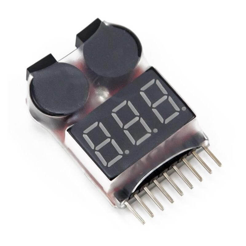 Testeur et Buzzer pour Batterie Li-Po/Ni-Mh/Li-ion  (1 é 8S)