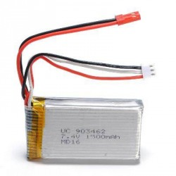 Batterie 7.4V 1500mAh pour Wltoys V913 - MT400