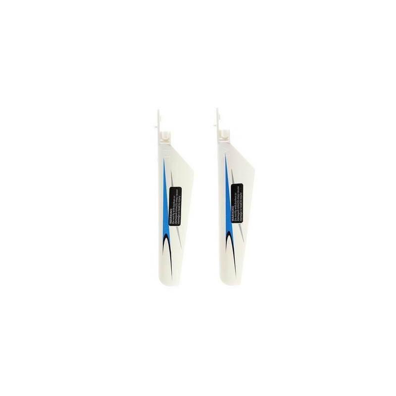 2 Pales Blanc/bleu pour WLTOYS V911
