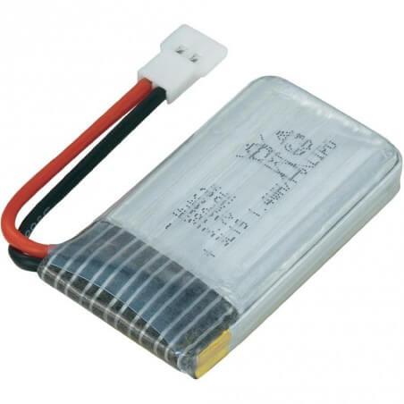 H107-A24 - Accu 3,7V 380mAh ORIGINAL Hubsan H107C - HD - H107D FPV